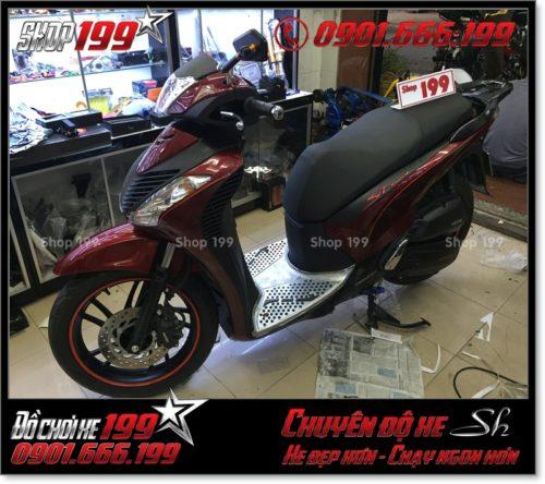 Album hình xe Honda SH Việt 125i 150i 2016 2017 chế lên thành SH nhập Italia 150i 2010 2011 với dàn mủ SH nhập khẩu tại HCM 3122