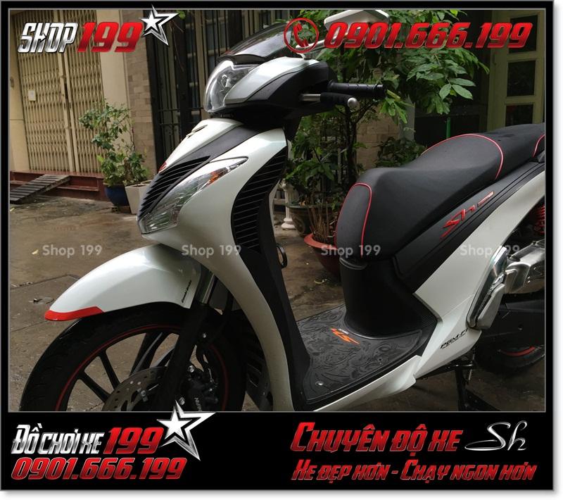 Album hình xe Honda SH Việt Nam 125i 150i 2016 2017 chế lên giống SH nhập Italia 150i 2010 2011 với dàn nhựa SH nhập ở TP HCM 8758 - Nơi độ SH uy tín: 0901.666.199