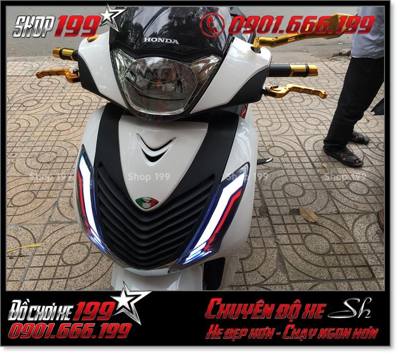 Album hình xe Honda SH Việt Nam 125i 150i 2016 2017 làm lên giống SH nhập Ý 150i 2010 2011 với dàn lông SH nhập tại TP Hồ Chí Minh - Shop độ xe SH chuyên nghiệp 199: 0901.666.199