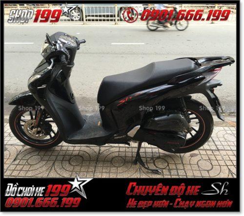 Album hình xe Honda SH VN 125i 150i 2016 2017 chế lên thành SH nhập Italy 150i 2010 2011 với dàn lông SH ngoại nhập tại HCM 1846 - Xe Sh Việt Nam 2016 độ đẹp: 0901.666.199