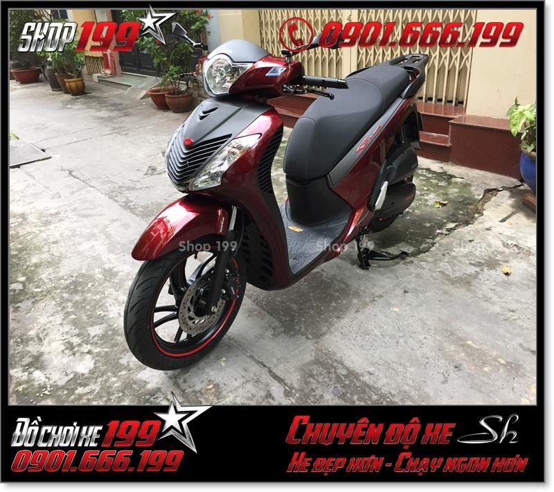 Độ full combo dàn áo SH nhập Ý 2010 2011 cho xe Honda SH Việt Nam 125i 150i smartkey 2015 2016 2017 tại TP Hồ Chí Minh