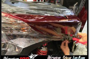 Hình ảnh xe SH 2017 dán keo trong ở shop 199 HCM