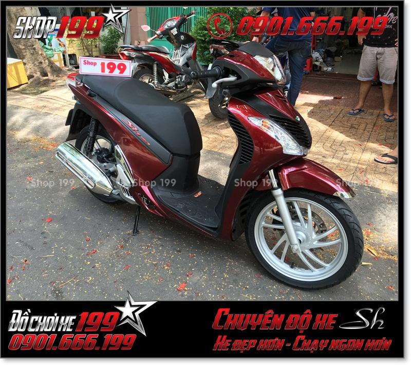 Hình ảnh xe SH Việt 125i 150i 2016 2017 độ lên giống SH nhập Italia 150i 2010 2011 với dàn nhựa SH nhập khẩu ở TP Hồ Chí Minh 7588