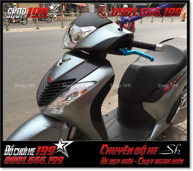 Photo xe SH Việt 125i 150i 2016 2017 độ lên giống SH nhập Italia 150i 2010 2011 với dàn nhựa SH nhập tại TP Hồ Chí Minh 5590 - Shop bán đồ chơi xe: 0901.666.199