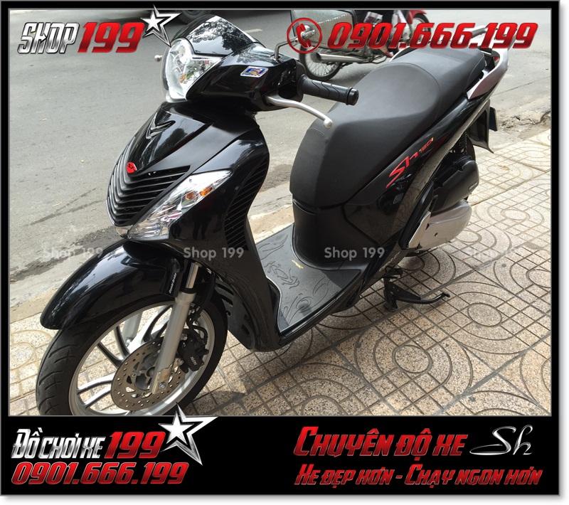 Xe SH Việt 125i 150i 2016 2017 smartkey gắn combo dàn mủ SH nhập Italy 2010 2011 giá bao nhiêu tiền ở TP HCM