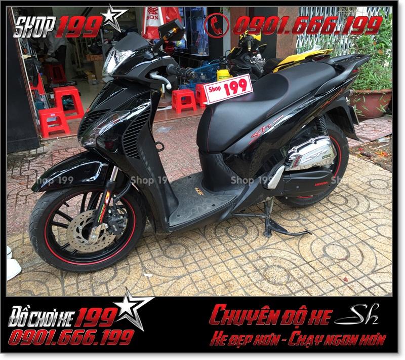 Xem hình xe Honda SH Việt Nam 125i 150i 2016 2017 độ lên giống SH nhập Italia 150i 2010 2011 với dàn áo SH nhập khẩu tại TP Hồ Chí Minh 8773