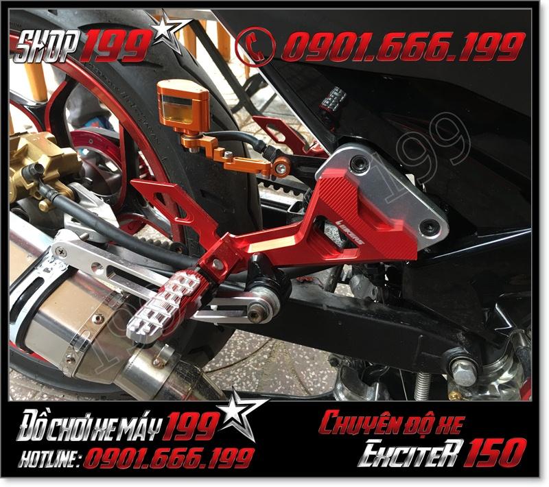 Bán gác chân sau Biker cho xe yamaha exciter 150cc 135cc 2015-2016 cao cấp giá rẻ ở HCM 8290 - Phụ tùng độ cho xe ex 150cc 2015 giá rẻ