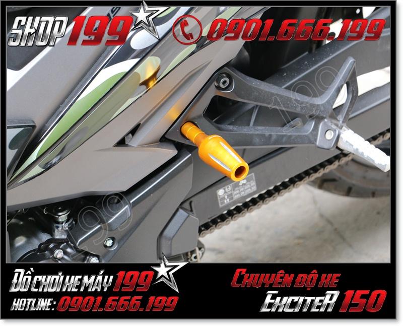 Độ chống đổ nhôm Rizoma cho xe yamaha exciter 150cc 135cc 2015-2016 cao cấp giá rẻ ở HCM 1191 - Phụ tùng gắn cho xe yamaha exciter 150cc 2015 giá rẻ