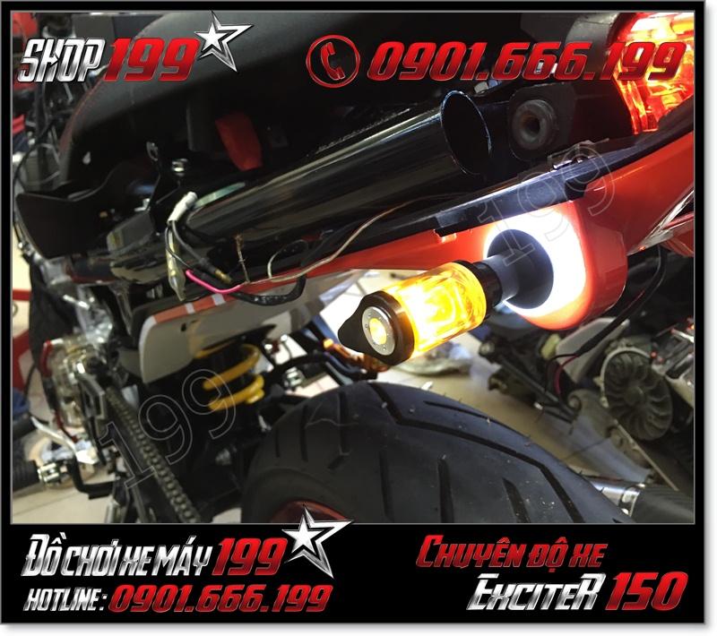 Gắn xinhan giọt nước cho xe yamaha exciter 150 135 2015-2016 cực chất giá rẻ ở TP HCM 2483