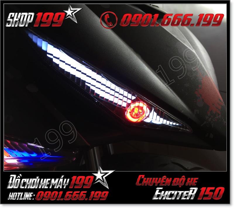 Nơi thay thế đèn led audi cho xe yamaha exciter 150 135 2015-2016 cực ngầu giá rẻ tại TP Hồ Chí Minh 6082