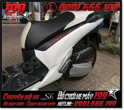Bọc da yên xe máy honda SH Nhập 2012 2013 2014 2015 2016 125i 150i giá rẻ tại Tp HCM 8490