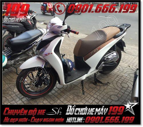 Bọc da yên xe máy honda SH Ý 2012 2013 2014 2015 2016 125i 150i giá bao nhiêu tiền tại HCM 6331