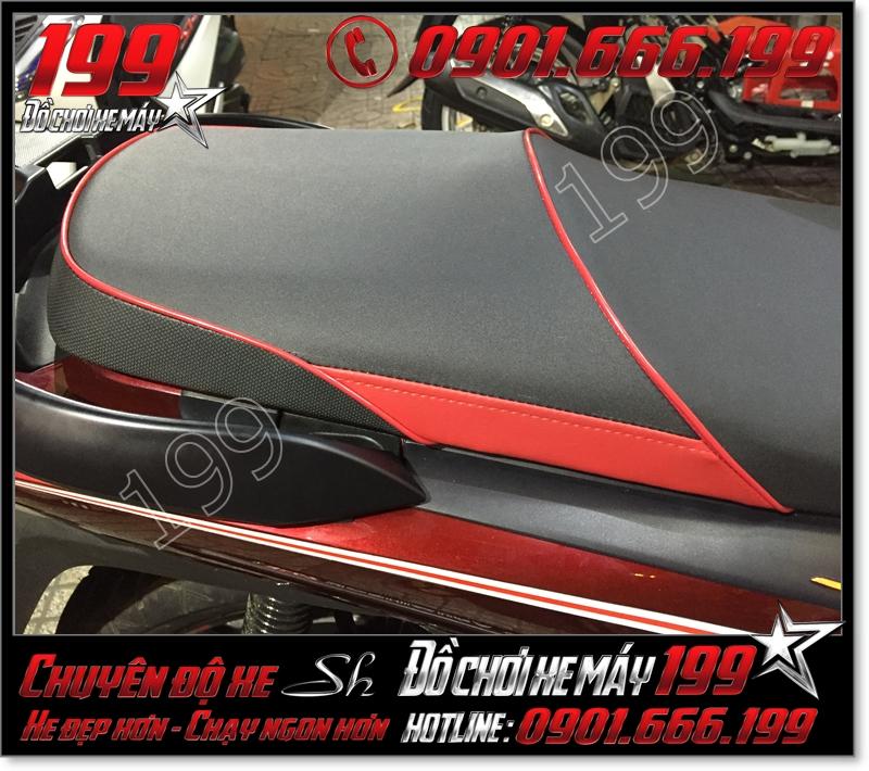 Bọc da yên xe máy SH Nhập 2012 2013 2014 2015 2016 125i 150i giá bao nhiêu tiền tại TPHCM 4601