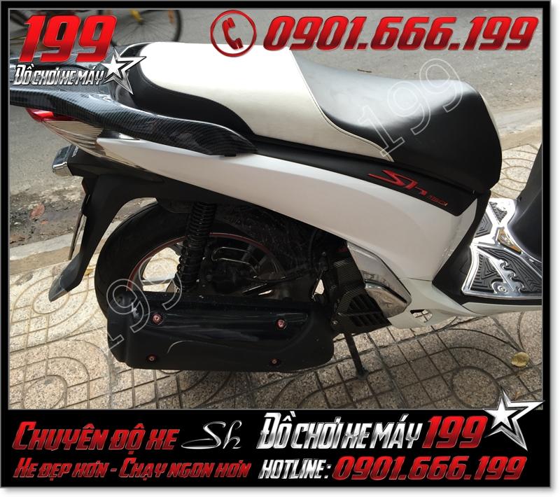Bọc lại da yên xe máy honda SH Việt 2012 2013 2014 2015 2016 125i 150i giá rẻ tại Tp HCM 8968