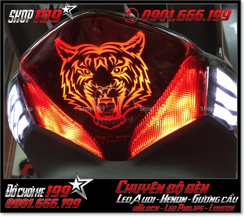 Làm đèn led audi cho xe máy honda SH VN 2012 2013 2014 2015 2016 125i 150i đẹp mắt cao cấp tại Tp HCM Q2 2008-2017