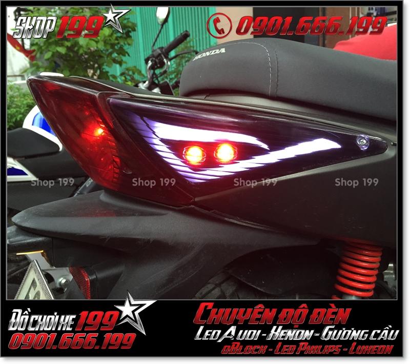 Chế đèn led audi cho xe honda SH 2008 chuyên nghiệp ở TP Hồ Chí Minh Q2 2006-2018