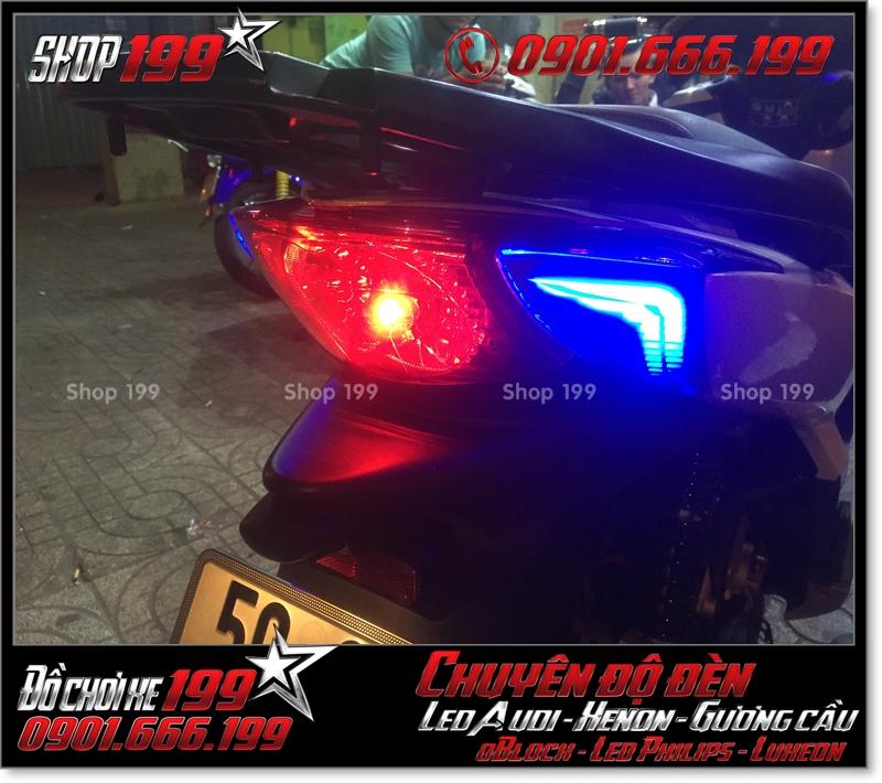 Chế đèn led audi đèn sau xinhan sau cho xe honda SH nhập Ý 2009 2010 2011 chuyên nghiệp tại TPHCM Quận 9 2003-2016