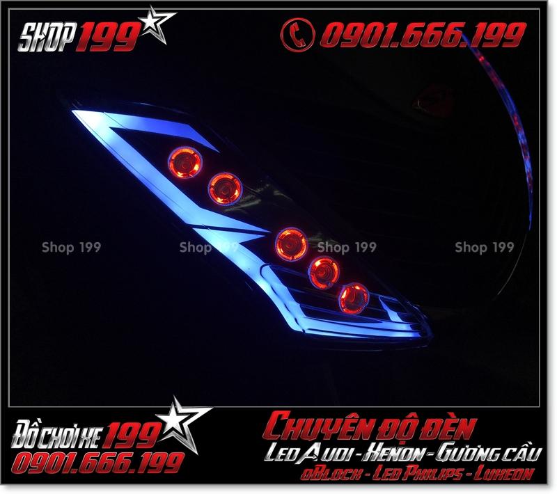 Chế đèn led audi xinhan trước cho xe honda SH 2009 2010 2011 chuyên nghiệp ở Tp HCM Quận 5 2000-2019