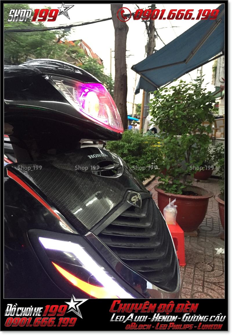 Làm đèn led audi cho xe honda SH 2008 chuyên nghiệp tại Sài Gòn Quận 5 2001-2017