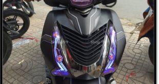 Độ đèn led audi cho xe máy SH Việt Nam 2012 2013 2014 2015 2016 125i 150i đẹp đẳng cấp tại TPHCM Tân Bình 2003-2016