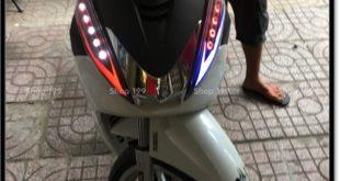 Độ đèn led audi cho xe máy SH 300i đẹp mắt đẳng cấp ở Tp HCM Quận 5 2005-2016