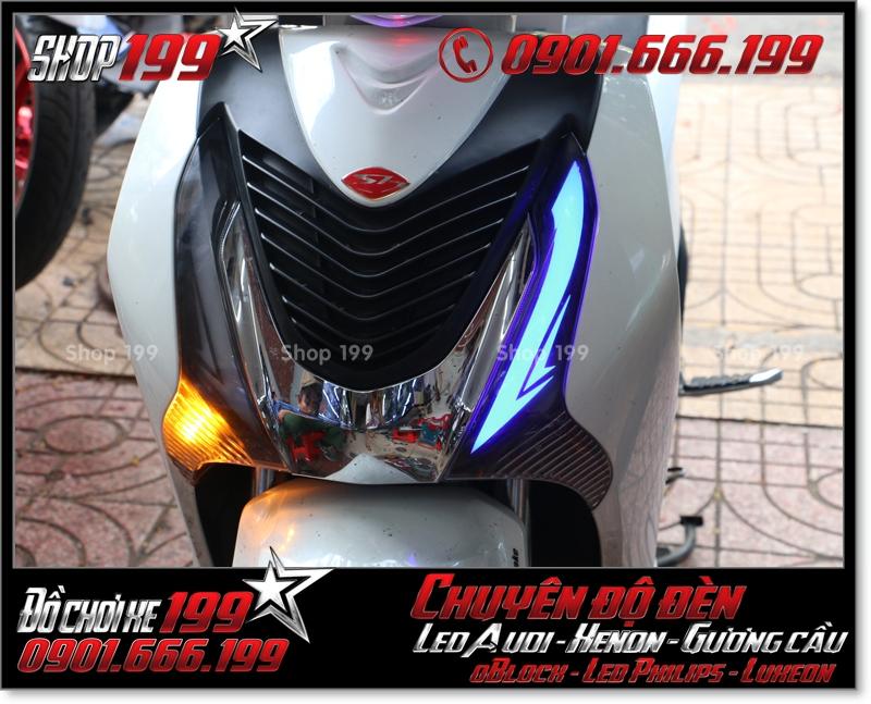 Làm đèn led audi cho xe máy SH Việt 2012 2013 2014 2015 2016 125i 150i đẹp mắt đẳng cấp tại Tp HCM Quận 10 2004-2016
