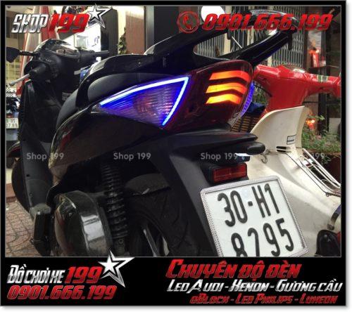 Độ đèn led audi cho xe SH 2008 chuyên nghiệp ở TP Hồ Chí Minh Q12 2008-2017