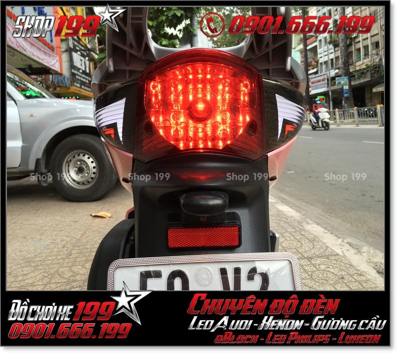 Làm đèn led audi cho xe SH 2008 chuyên nghiệp tại HCM Q6 2007-2019