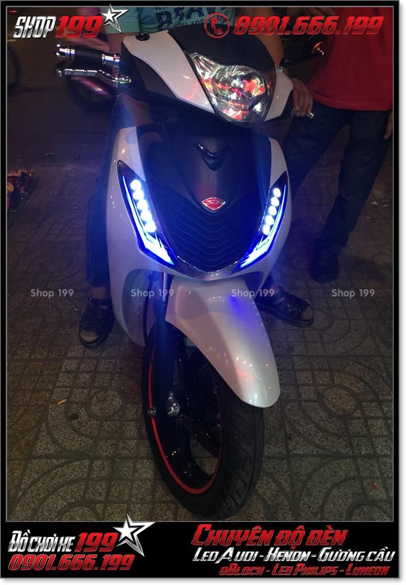 Độ đèn led audi xinhan trước cho xe SH 2009 2010 2011 chuyên nghiệp ở TP Hồ Chí Minh Quận 1 2006-2018