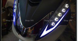 Image chế đèn led audi cho xe máy honda SH 300i 2008 2016 2016 đẹp mắt đẳng cấp tại TPHCM Quận 11 2003-2013