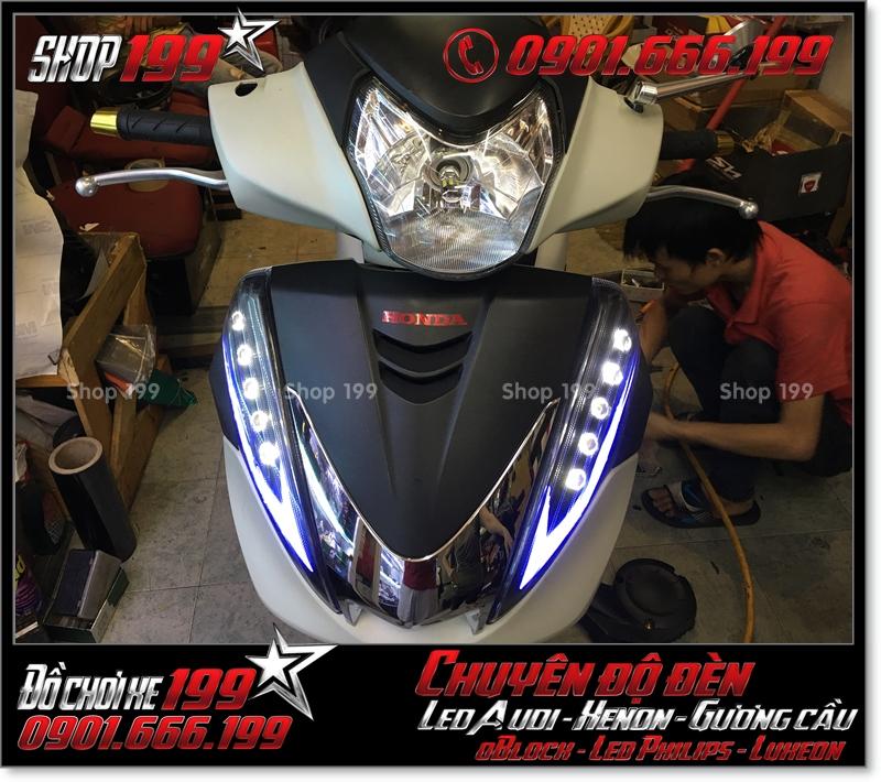 Photo làm đèn led audi cho xe máy honda SH 300i 2008 2016 2016 đẹp cao cấp ở Tp HCM Q1 2005-2011