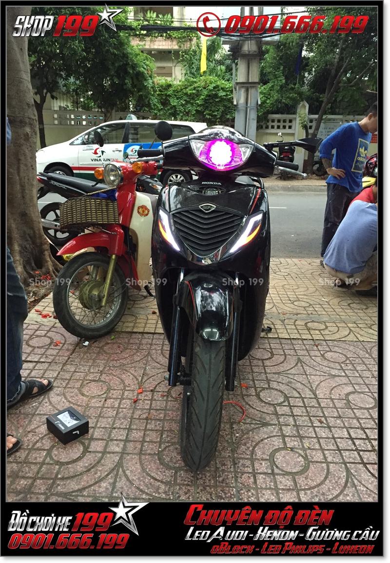 Làm đèn led audi cho xe honda SH 2008 chuyên nghiệp tại TP Hồ Chí Minh Quận 10 2009-2017