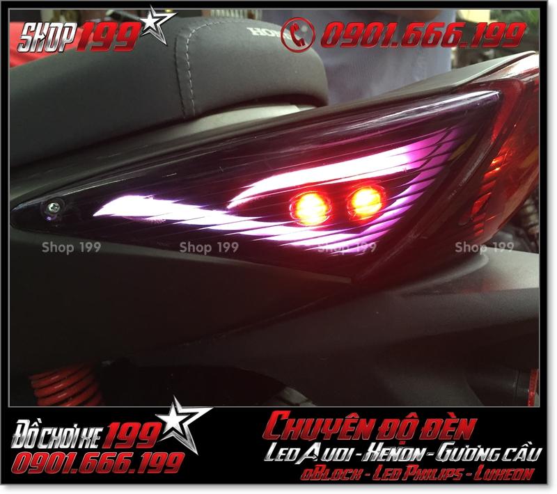 Độ đèn led audi cho xe SH 2008 chuyên nghiệp tại HCM Q3 2004-2016