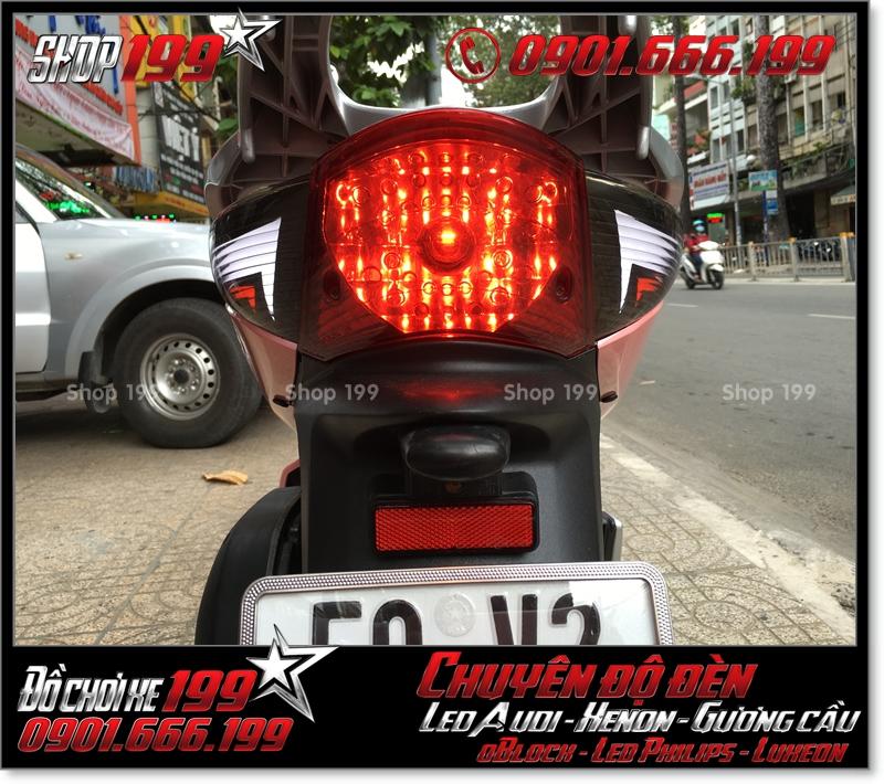 Làm đèn led audi cho xe SH 2008 chuyên nghiệp tại TPHCM Q12 2004-2018