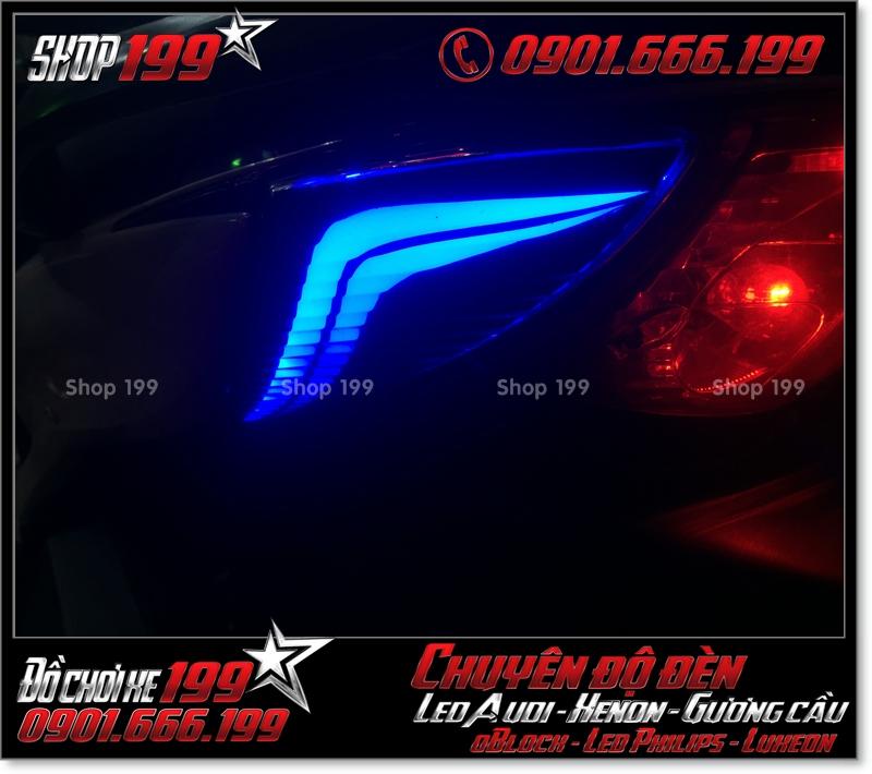 Làm đèn led audi đèn sau xinhan sau cho xe honda SH nhập Ý 2009 2010 2011 chuyên nghiệp tại HCM Q1 2000-2018