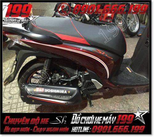 May da yên xe máy honda SH Việt Nam 2012 2013 2014 2015 2016 125i 150i giá rẻ ở Hồ Chí Minh 0447