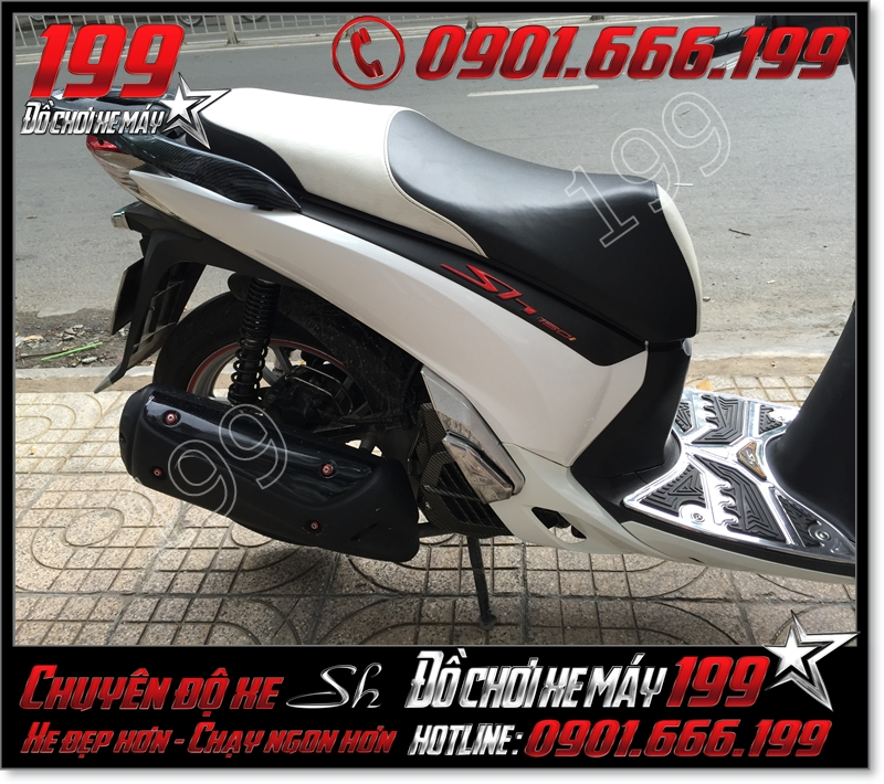 May da yên xe máy honda SH VN 2012 2013 2014 2015 2016 125i 150i giá bao nhiêu tiền ở TPHCM 5642