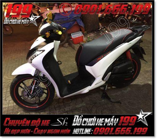 May da yên xe máy SH Ý 2012 2013 2014 2015 2016 125i 150i giá rẻ tại Hồ Chí Minh