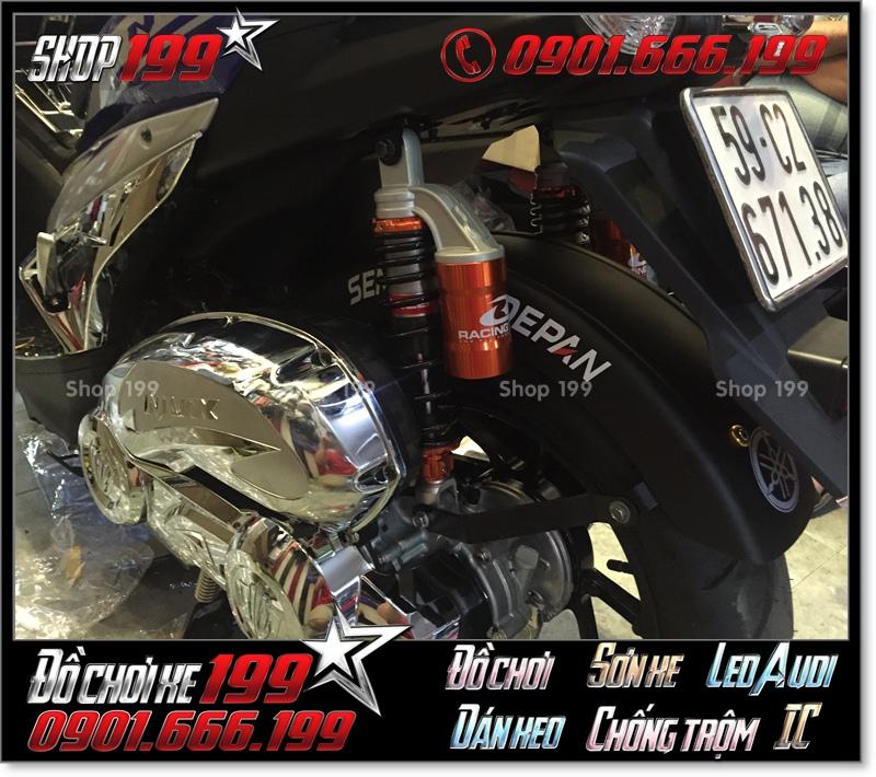 Chắn bùn bánh xe sau cho xe Yamaha NVX 155 cực đẹp và hiệu quả