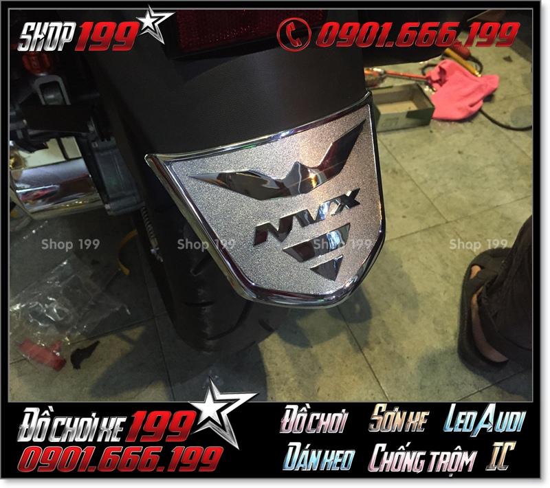 Ôp vè chắn bùn sau cho xe Yamaha NVX xi inox hàng hiệu chất lượng