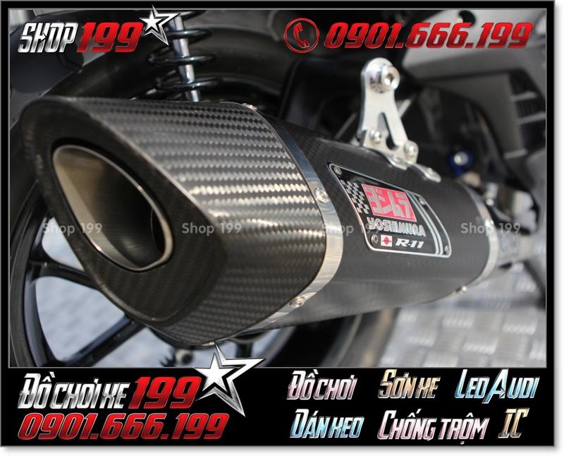 Pô độ hàng hiệu cho Yamaha NVX 155 cực đẹp và đẳng cấp