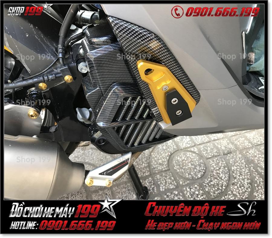 Picture of Honda SH 2017 2018 2019 125 150 thay gác chân sau Biker nhôm CNC cao cấp