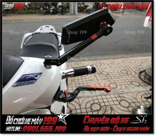 Image of độ phụ kiện kính chiếu hậu kiểng cho xe Honda SH 125 150 2017 2018 2019 giá rẻ tại HCM