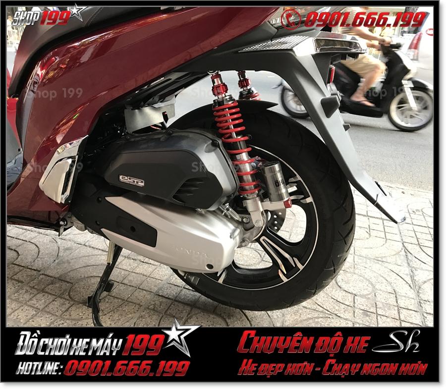 Image of xe Honda SH 2017 2018 2019 125 150 gắn bánh mâm kuni đẹp lên sport phụ tùng trang trí xe 199 HCM