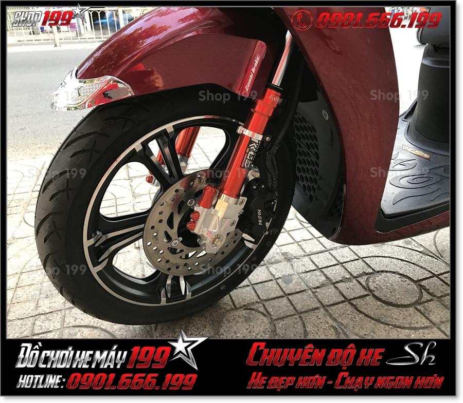 Xem ảnh bánh xe kuni Thái Lan thay cho xe SH 2017 2018 2019 125 150 độ cực đẹp giá rẻ tại Sài Gòn