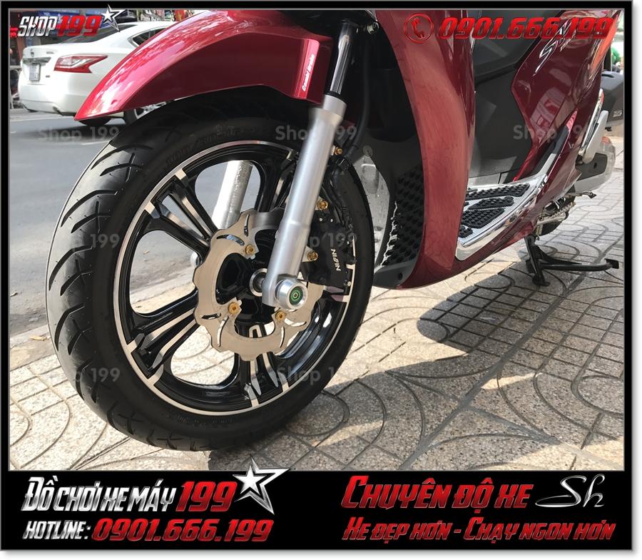 Xem Hình xe SH 2017 2018 2019 125 150 thay bánh xe kuni đẹp lên sporty phụ tùng trang trí xe 199 HCM