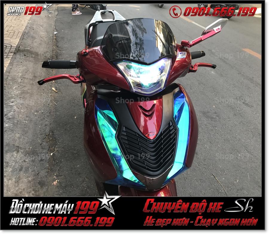 Hình ảnh Honda SH 2017 2018 2019 125 150 gắn mặt nạ kiểng cao cấp, phụ tùng giá rẻ trang trí xe đẹp ở TP HCM