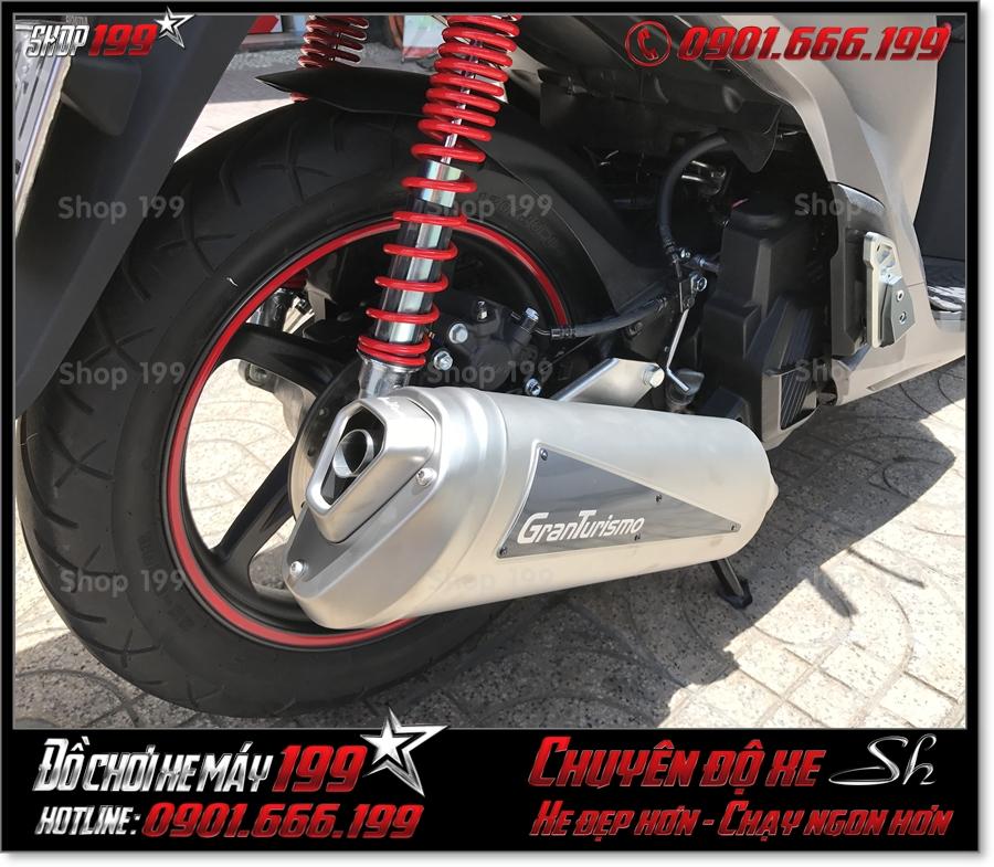 Picture of Honda SH 125 150 2017 2018 2019 thay pô Granturismo hàng thật 100% Italia cao cấp giá rẻ tại HCM