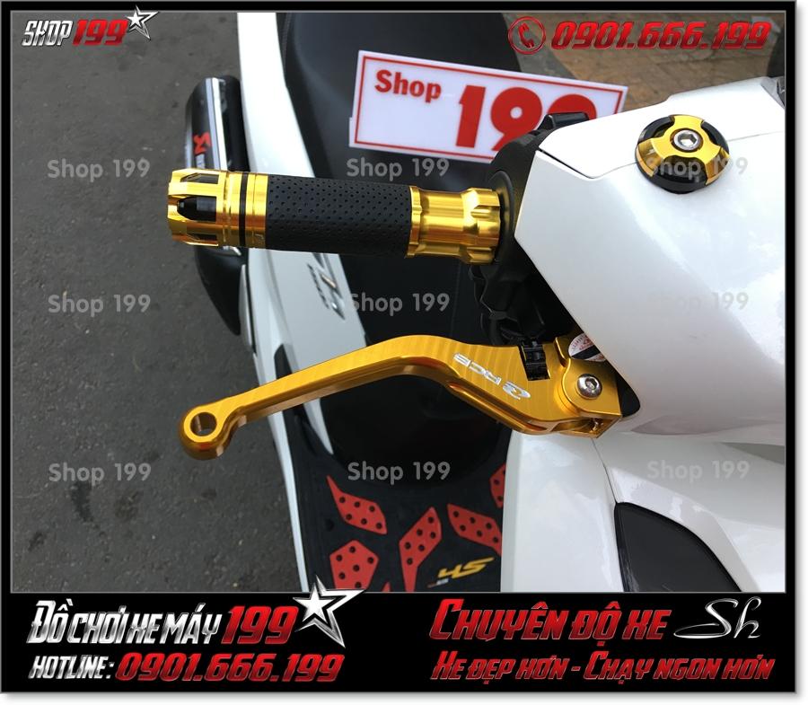 Picture of độ phụ tùng tay phanh RCB 6 số gãy nhôm nguyên khối cnc cho Honda SH 125 150 2017 2018 2019 giá rẻ tại 199