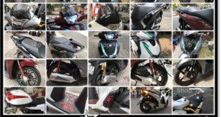 Hình ảnh đồ chơi xe SH 2017 2018 2019 125i 150i tổng hợp đẹp mắt giá rẻ tại shop 199 HCM